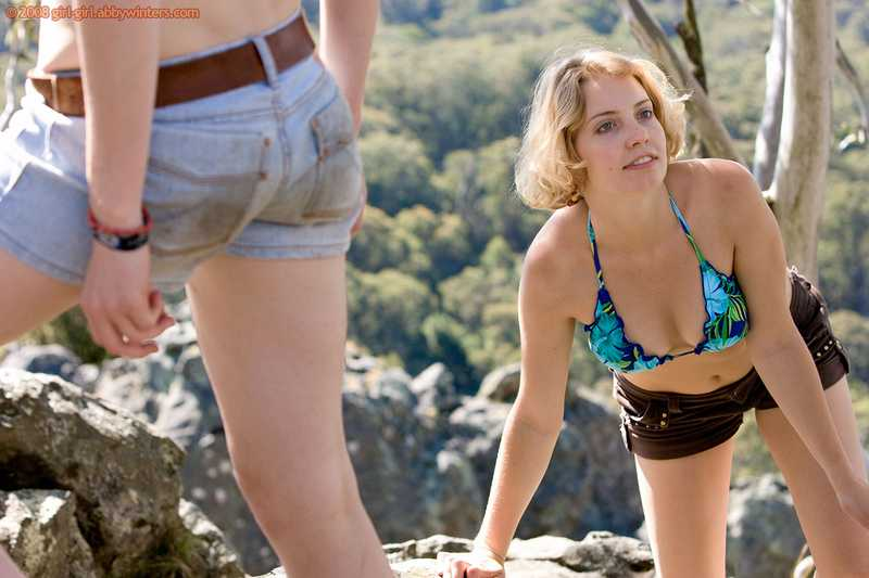 Abby Winters naked Hiking Girls