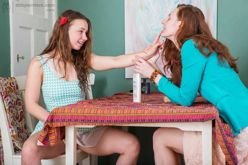 Abby Winters Sophie and Irina lesbian sex