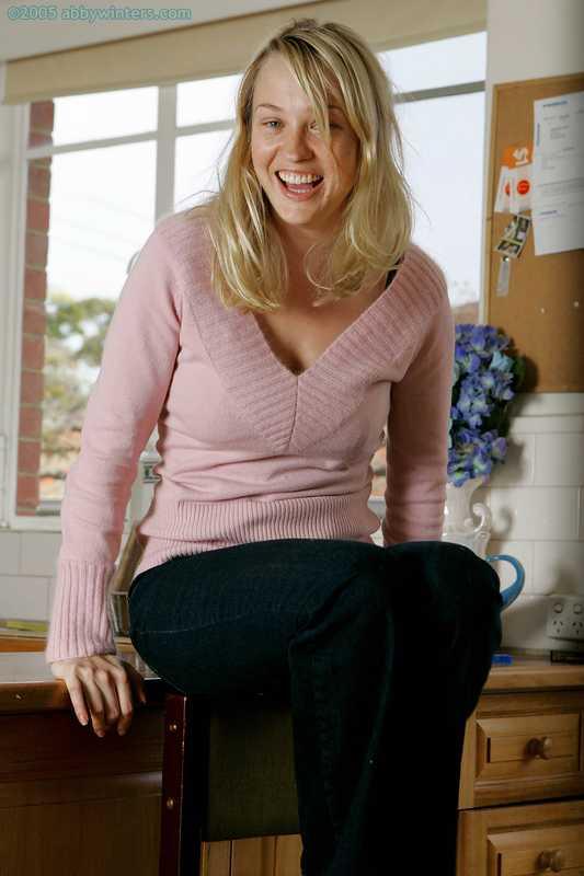 Abby Winters Anneke busty Australian girl