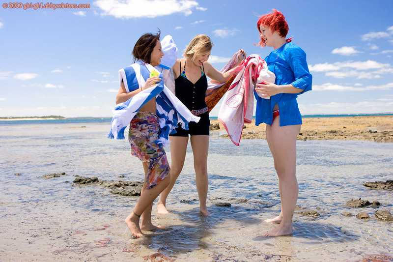 abby winters camper van lesbian threesome Silvie, Kara Jette