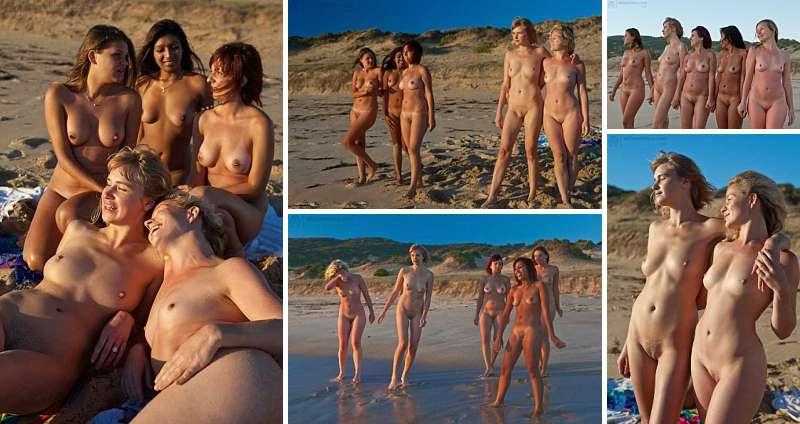 Australian beach nudity