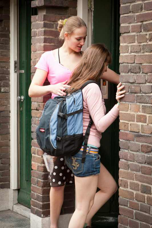Alyssa and Marleen girl on girl