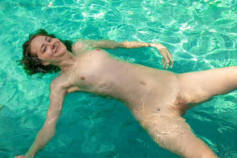 Nude Girl Holly Pees Outdoors