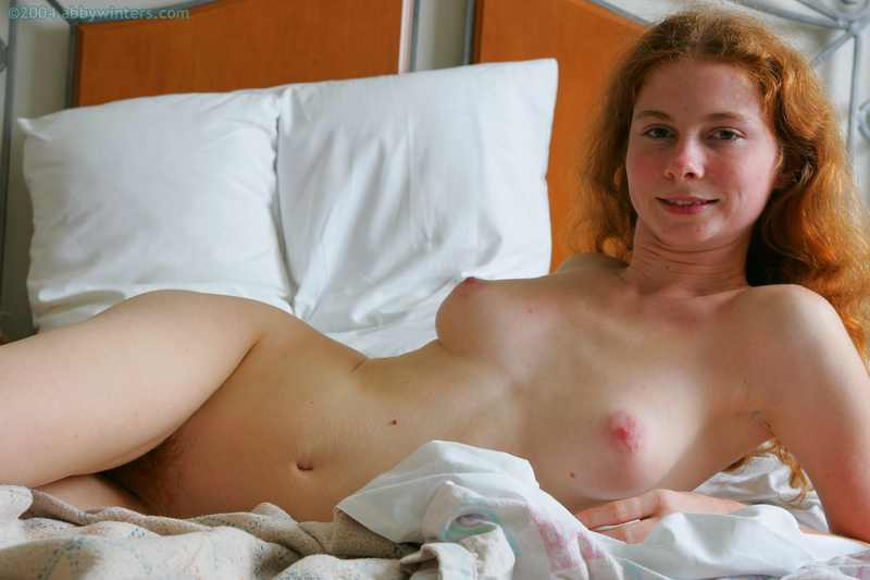 Isabel the spunky naked redhead