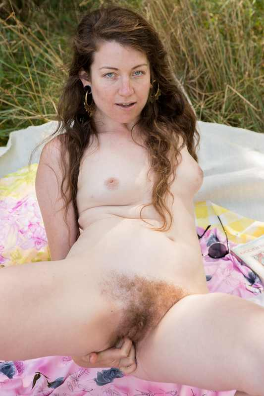 Tiffany masturbating and peeing outdoors
