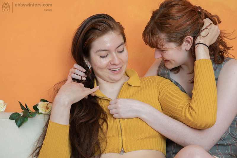 Lalia and Maddie girl on girl