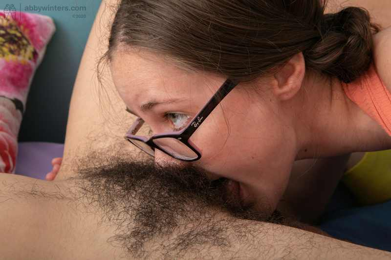 Holly and Lucia intense lesbian sex