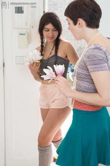 Gala and Nina explicit girl on girl
